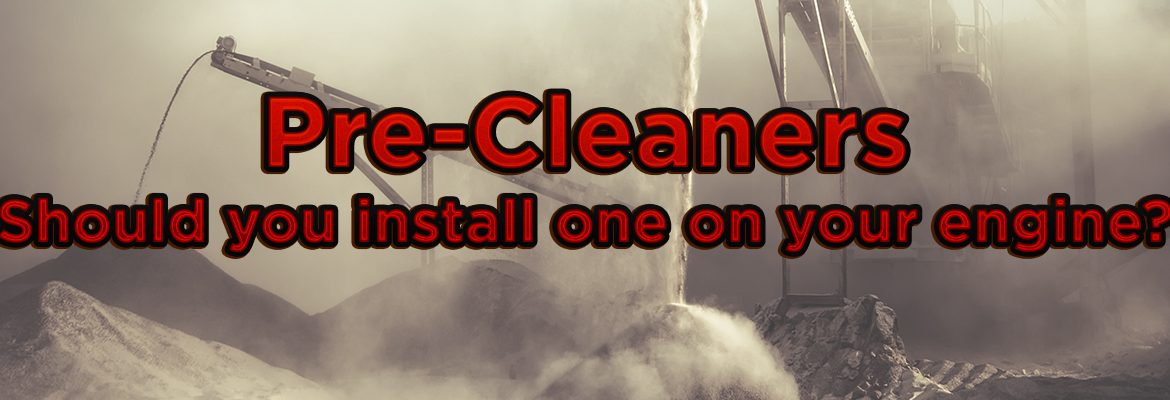 How do Pre-Cleaners work. Precleaner can save you a lot on air filter change outs