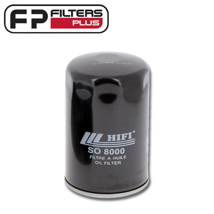 SO8000 HIFI Oil Filter Perth Fits Lombardini Melbourne JCB Sydney Ghel Australia