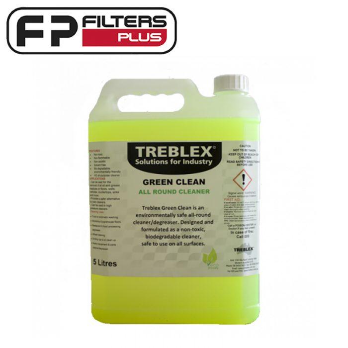 Treblex All Purpose Green Clean 5 Litre Cleaner Perth Melbourne Sydney