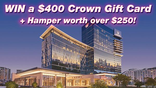 Crown Perth Giveaway