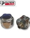 "TRM114 Chrome Breather Filter Perth 1/8"" bsp Sydney Bulk Fuel Melbourne Hydraulic Tanks"