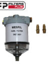 Wesfil WCFA01 CAv Fuel Filter assembly Perth Fuel Water Separator Sydney Suits Small Engines Melbourne